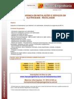 NR 10 SEGURANÇA EM INSTALAÇÕES E SERVIÇOS EM ELETRICIDADE - RECICLAGEM