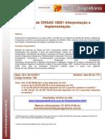 Curso de OHSAS 18001 Interpretação e Implementação