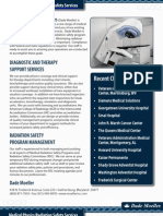 Rad Safety Services | Med Physics Brochure