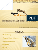Improving Customer Relations at Tiger Airways