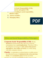 Social Resposibility and CSR