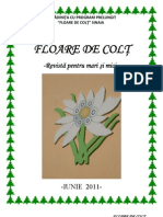 Revista Floare de Colt - Sinaia. Iunie 2011