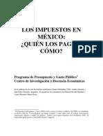 Impuestos en Mexico Quien Paga y Como