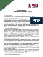110421 Verslag Gemeenteraad Oud-Turnhout