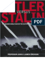 511986 Hitler Versus Stalin the WWII on the Eastern Front in Photographs