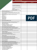 Data Center Audit Checklist