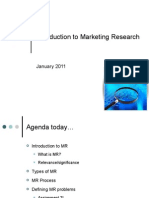 Marketing Research Session 01