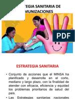 Estrategia Sanitaria de Inmunizaciones - Clase