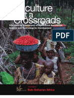 Agriculture at a Crossroads Volume v Sub-Saharan Africa Subglobal Report