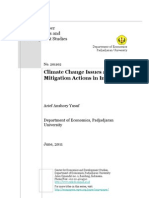 Climate Change Issues & Mitigation Actions in Indonesia