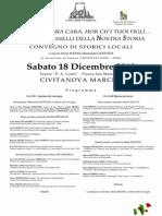 Centro Studi Civitanovesi - 18 dic 2010 Convegno di Storici Locali