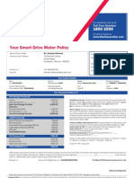 Policy Schedule Two Wheeler-cs2