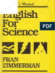 English for Science IM