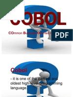 COBOL !!!!!!!