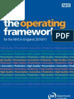 Operating Framework 10-11