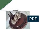 Tort Cu Crema de Ciocolata