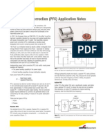 Power Factor Correction (PFC) Application Notes
