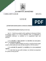 Legea 202 - 2010 Privind Unele Masuri Pentru Accelerarea Solutionarii Proceselor