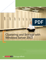 17285826 Clustering and Storage With Windows Server 2003