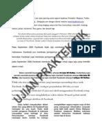 Ujian Praktek TIK SMP Tahun Pelajaran 2010-2011