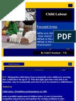 Child Labour by Sahil Chandani 7-d