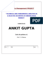 Portfolio Management PROJECT