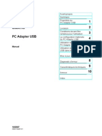 PC Adapter USB - Manuel