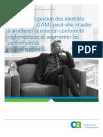 Computer Associates - Soution IAM - Gestion des identités - Aperçu