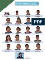 Francia testvérosztály  2010/2011