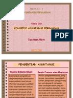Handout. 01 - Konsepsi Akuntansi Perbankan