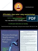 Affordable Clean Water Using Nanotechnology