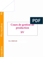 Cours de Gestion de Production