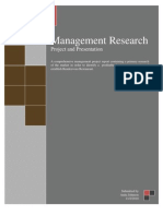 Management Research 1