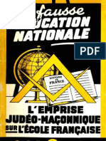 Bertrand Jean & Wacogne Claude - La fausse éducation nationale