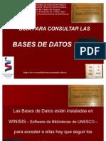 Guía para Consultar las Base de Datos - Registro de Inventario