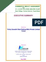 EIA_Sumathi_Eng - Environmental Impect Analysis Steel Rolling Mill