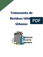 Tratamento de Resíduos Sólidos Urbanos final