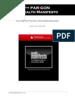 WealthManifestoST-The Enlightened Way To Extraordinary Wealth...