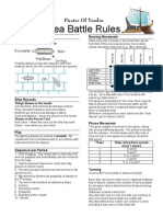 Pirates of Yendor  Sea Battle Rules
