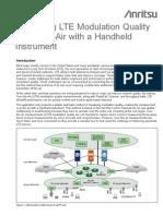 Measuring Lte Air Quality