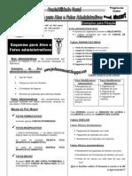 Contabilidade Geral Esquema Para Atos e Fatos Administrativos 2011