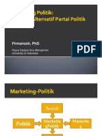 Marketing Politik - Firmanzah 2