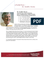 Gerald L. Keown, Ph.D.