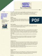 Aerobatics Setup Page 2