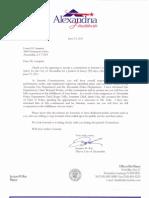 Loren Lampert Commission Oath of Office