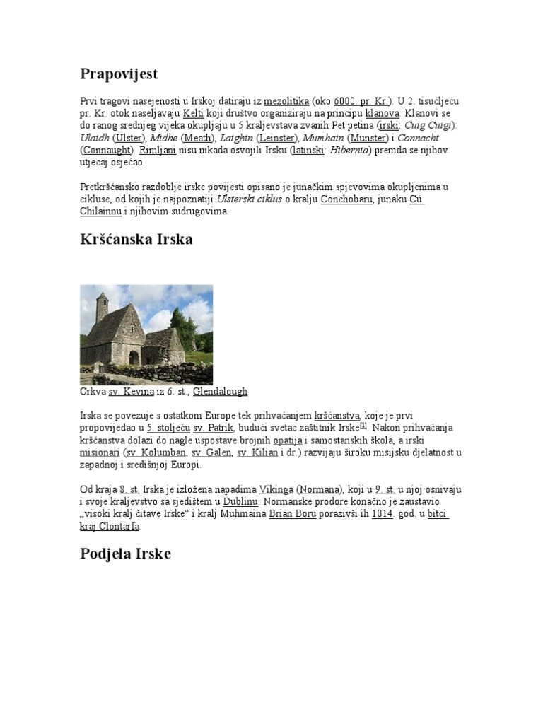 Datira iz Galway Irska