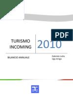 INTUR 2010 - Bilancio Annuale -
