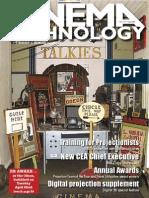 Cinema Technology Magazine Anamorphics Projection Vintage