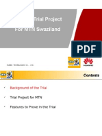 Storage Trial Project for MTN Swaziland
