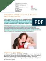 Presentazione Corsi PAS BASIC I Feuerstein